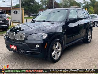 Used 2008 BMW X5 4.8i LOW KM NO ACCIDENT NAVIGATION AWD CERTIFIED for sale in Oakville, ON