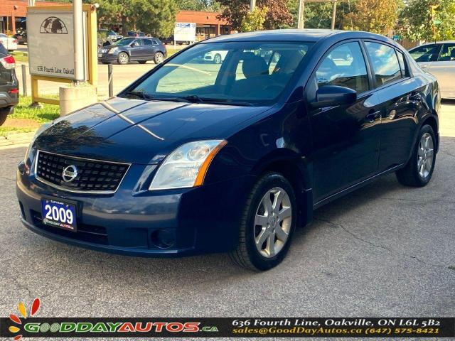 2009 Nissan Sentra 2.0 S ONE OWNER LOW KM NO ACCIDENT CERTIFIED