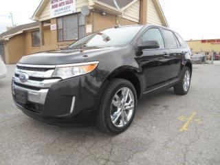 Used 2014 Ford Edge SEL AWD Loaded Leather Sunroof GPS Navigation for sale in Rexdale, ON