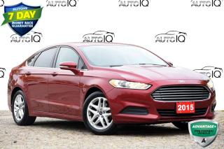 Used 2015 Ford Fusion SE SUNROOF | BACK-UP CAMERA for sale in Kitchener, ON