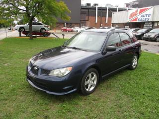 Used 2006 Subaru Impreza 2.5i ~ AWD ~ LOW KM ~ SAFETY INCLUDED for sale in Toronto, ON