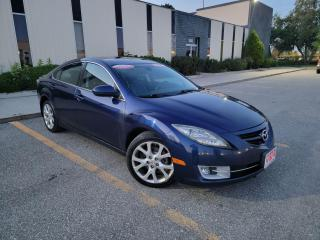 Used 2010 Mazda MAZDA6 GT,LEATHER,SUNROOF,CERTIFIED for sale in Mississauga, ON