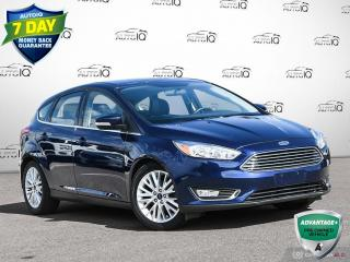 Used 2016 Ford Focus Titanium | Hatchback | Leather Navigation | Sunroof!! for sale in Oakville, ON