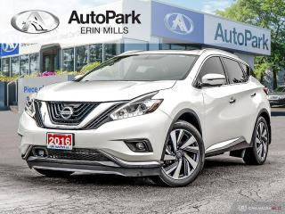 Used 2016 Nissan Murano Platinum AWD, NAVIGATION, PANORAMIC SUNROOF, LEATHER SEATING, ALL THE TOYS YOU WANT for sale in Mississauga, ON