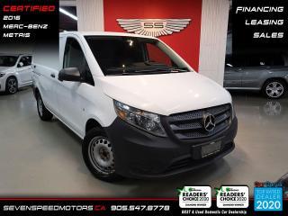 Used 2016 Mercedes-Benz Metris Cargo Van for sale in Oakville, ON