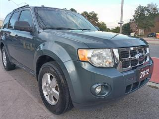 Used 2012 Ford Escape XLT-EXTRA CLEAN-SUNROOF-BLUETOOTH-AUX-ALLOYS for sale in Scarborough, ON