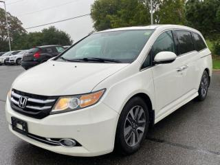 Used 2015 Honda Odyssey Touring w/RES & Navi.PowerDoors.Camera.8Pass for sale in Kitchener, ON