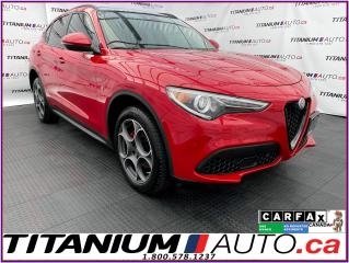 Used 2018 Alfa Romeo Stelvio 2.99% FINANCING - Sport+GPS+Pano Roof+Blind Spot+ for sale in London, ON