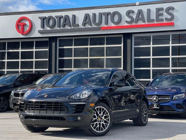 2015 Porsche Macan S | RED LEATHER | NAVI | PANO | 20 RS RIMS