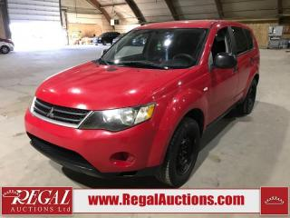 Used 2007 Mitsubishi Outlander LS 4D Utility 4WD for sale in Calgary, AB