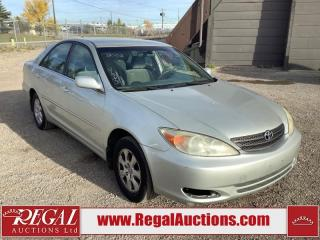 Used 2003 Toyota Camry LE for sale in Calgary, AB