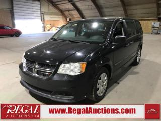 Used 2013 Dodge Grand Caravan SE 4D Wagon FWD for sale in Calgary, AB