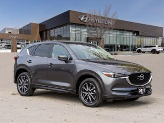 Used 2017 Mazda CX-5 GT | Heated Steering | Remote Start | Sunroof | for sale in Winnipeg, MB