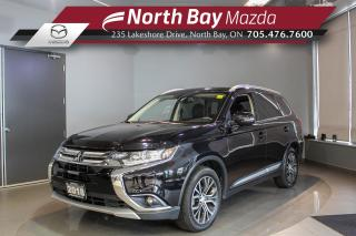 Used 2018 Mitsubishi Outlander ES Leather - Sunroof - Nav - 360 Camera for sale in North Bay, ON