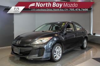 Used 2013 Mazda MAZDA3 GS-SKY CERTIFIED - Auto - Cruise - BT for sale in North Bay, ON