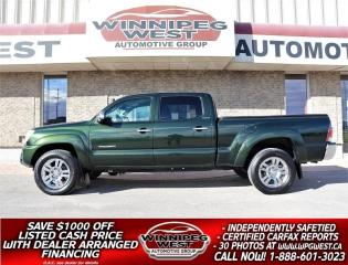 Used 2013 Toyota Tacoma LIMITED DOUBLE CAB V6 4X4, LOADED, LOCAL TRADE!! for sale in Headingley, MB