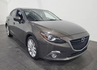 Used 2016 Mazda MAZDA3 GT SPORT Navigation- Toit ouvrant- Cuir for sale in Laval, QC