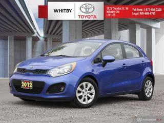 Used 2012 Kia Rio for sale in Whitby, ON
