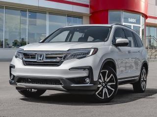 New 2022 Honda Pilot Touring 8 Passenger for sale in Brandon, MB