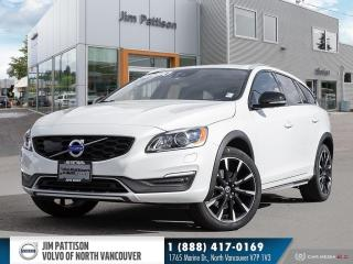 Used 2018 Volvo V60 Cross Country T5 Premier - LOCAL - ONE OWNER for sale in North Vancouver, BC