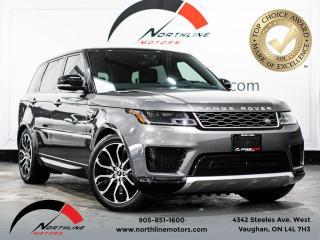 Used 2018 Land Rover Range Rover Sport Td6 Diesel HSE/360 CAM/PANO SUNROOF/NAV/BLIND SPOT for sale in Vaughan, ON