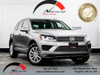 Used 2015 Volkswagen Touareg 4dr V6 Comfortline/PANORAMIC SUNROOF/ for sale in Vaughan, ON
