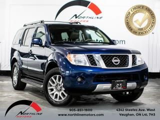 Used 2011 Nissan Pathfinder Le/BACKUP CAM/BOSE AUDIO/7 SEATER/ACCIDENT FREE for sale in Vaughan, ON