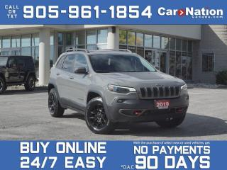 Used 2019 Jeep Cherokee Trailhawk Elite 4x4  NAVI  PANO ROOF  TECH GROUP  for sale in Burlington, ON