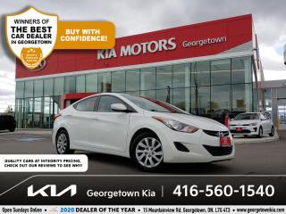 Used 2013 Hyundai Elantra GL | CLN CRFX | HTD SEATS | BLUETOOTH | CRUISE | for sale in Georgetown, ON