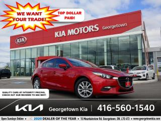 Used 2018 Mazda MAZDA3 Sport GS | 1 OWNR | CLN CRFX | 6 SPD MT | HTD SEATS |75K for sale in Georgetown, ON