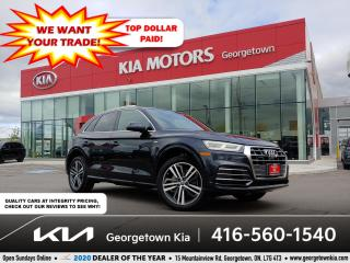 Used 2018 Audi Q5 Progressiv| PANO ROOF| NAV| HTD SEATS| 73K| BU CAM for sale in Georgetown, ON