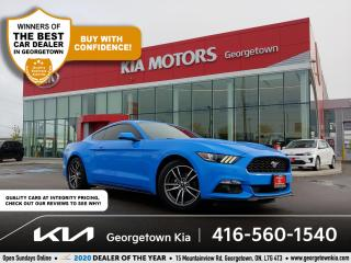 Used 2017 Ford Mustang PREMIUM | LTHR| NAV| HTD/COOLED SEATS | 66K| TINTS for sale in Georgetown, ON