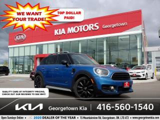 Used 2017 MINI Cooper Countryman ALL4 | 1 OWNR| CLN CRFX| NAV| SUNROOF| LTHR| TINTS for sale in Georgetown, ON