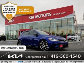 Used 2018 Volkswagen Golf R DSG | 49K | LEATHER | NAVI | SIDE SKIRTS | BU CAM for sale in Georgetown, ON
