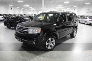Used 2015 Honda Pilot EX-L NO ACCIDENTS I LEATHER I SUNROOF I R.CAM I DVD PLAYER for sale in Mississauga, ON