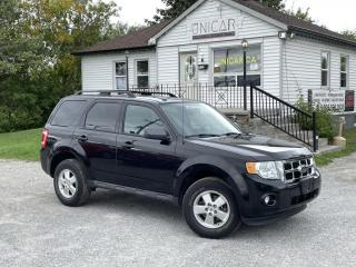 Used 2011 Ford Escape LOW KMS No-Accidents 4WD V6 XLT Leather Sunroof Power Group for sale in Sutton, ON