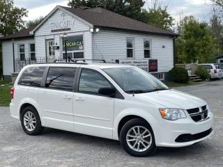 Used 2013 Dodge Grand Caravan 1-Owner No-Accident SXT Navi Backup Cam Power Doors StowNGo for sale in Sutton, ON