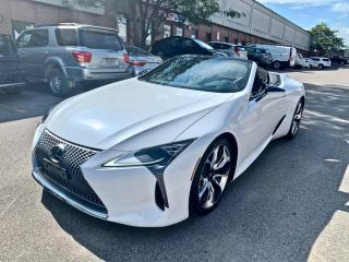 Used 2021 Lexus LC500 LC 500 Convertible for sale in North York, ON