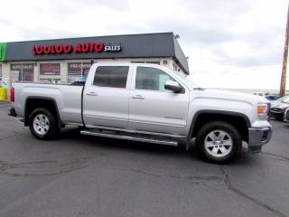 Used 2014 GMC Sierra 1500 SLE Crew Cab 4WD 5.3L V8 Camera Bluetooth Certified for sale in Milton, ON