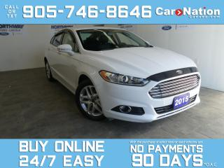 Used 2015 Ford Fusion SE LUXURY | LEATHER | NAV | ONLY 39 KM | TECH PKG for sale in Brantford, ON