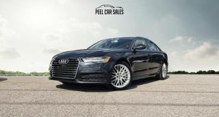 Used 2018 Audi A6 2.0T Premium quattro PROGRESSIV|NAVI|LEATHER|SUNROOF|CLEANTITLE|ONE OWNER|LOW KMS for sale in Mississauga, ON