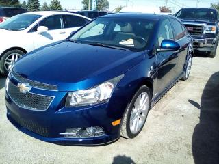 Used 2012 Chevrolet Cruze LTZ for sale in Leamington, ON