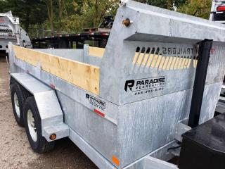 Used 2022 TRIUMPH TRAILERS TA6X12-70 GALVANIZED STEEL DUMP 7 TON for sale in Kitchener, ON
