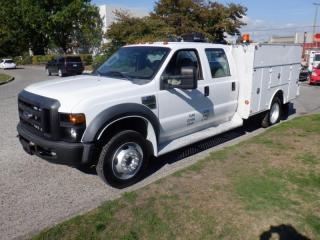Used 2008 Ford F-550 Crew Cab 2WD DRW with Service Body for sale in Burnaby, BC
