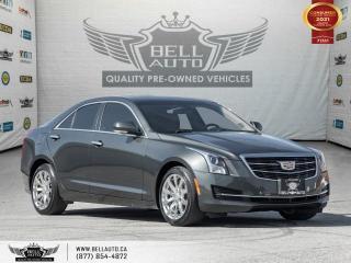Used 2017 Cadillac ATS Sedan Luxury AWD, Navi, RearCam, SunRoof, NoAccident, B.spot for sale in Toronto, ON