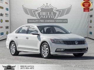 Used 2018 Volkswagen Passat Comfortline, SunRoof, RearCam, Sensors, LeatherInt for sale in Toronto, ON