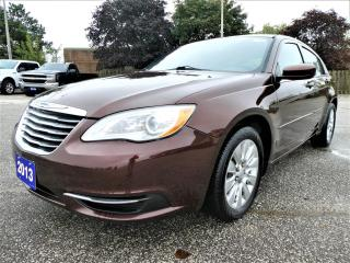 Used 2013 Chrysler 200 LX 2.4L | Cruise Control for sale in Essex, ON