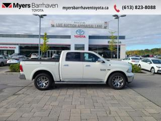 Used 2017 RAM 1500 Limited  - Navigation -  Cooled Seats - $283 B/W for sale in Ottawa, ON