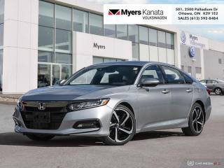 Used 2018 Honda Accord Sedan Sport CVT  - Sunroof -  Heated Seats for sale in Kanata, ON
