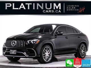Used 2021 Mercedes-Benz GLE-Class AMG GLE63 S COUPE, 603HP, INTELL. PKG, PRE. PKG for sale in Toronto, ON